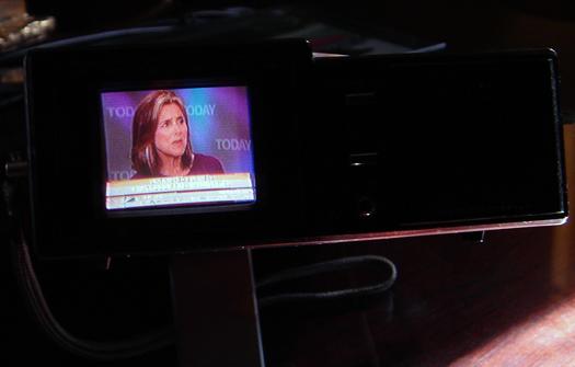 Panasonic CT 101A Screen shot photographed June 10, 2010
