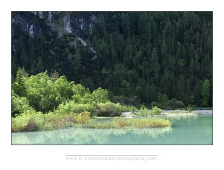 Lago Landro, morning light