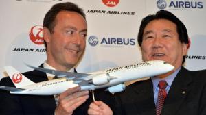 Airbus und JAL