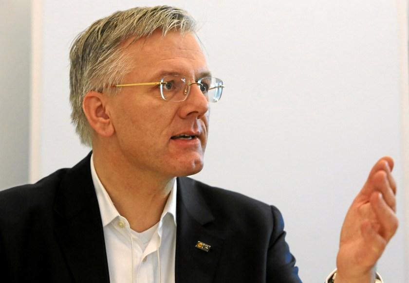 Christoph Franz Vorsitzender der Lufthansa Konzernvorstands seit Januar 2011