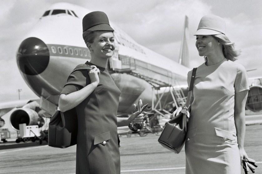 Lufthansa Retrojumbo Damenuniform