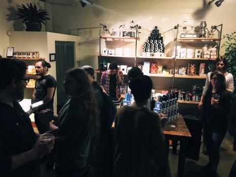 DJ Dish Pit kept the crowd dancing throughout the night.