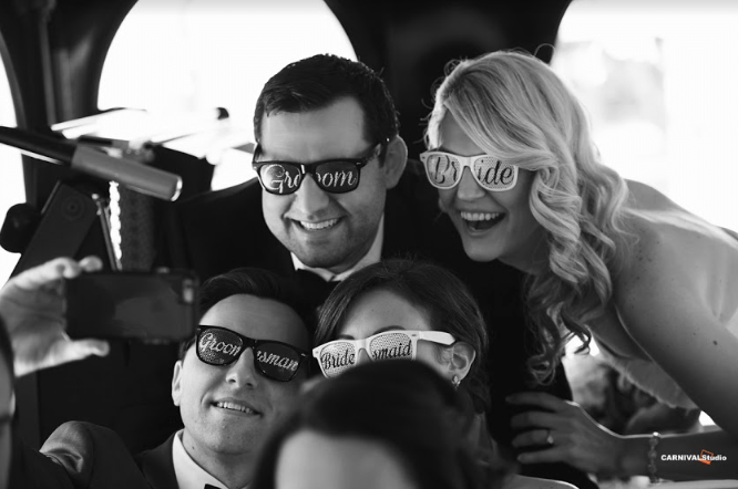 Cue your bridal party having a great time