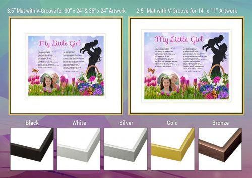 Mother Daughter Frame and Mat Choices