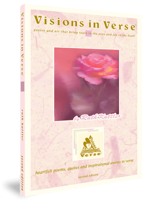Visions in Verse Inspirational Poetry Book Front Cover