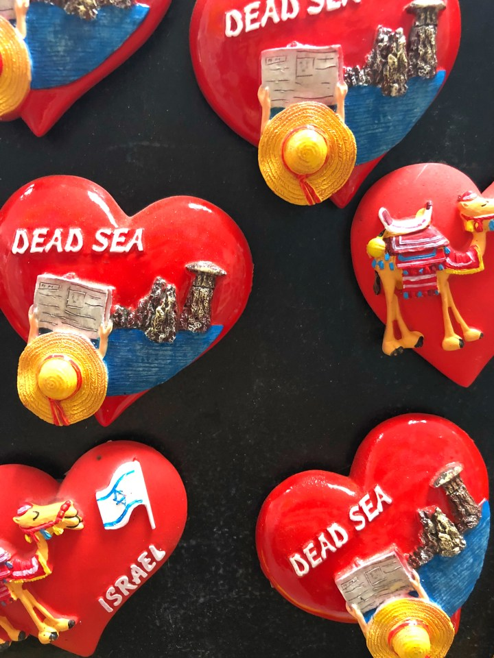 The Dead Sea fridge magnets