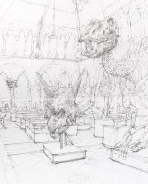 Sketch of the Museum by Jake Spicer (@BrightonDrawing)
