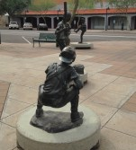 cool sculptures downtown Mesa AZ
