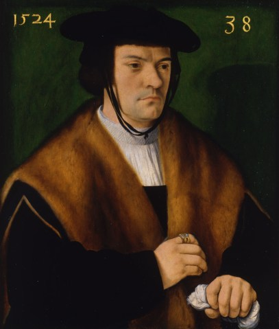 Barthel Bruyn, Portrait of Gerhard von Westerburg, 1524 Oil on panel, 62.3 x 52.4 http://www.comptonverney.org.uk/cv_collections/portrait-of-gerhard-von-westerberg/