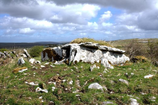 01. Parknabinnia Wedge Tomb, Clare, Ireland