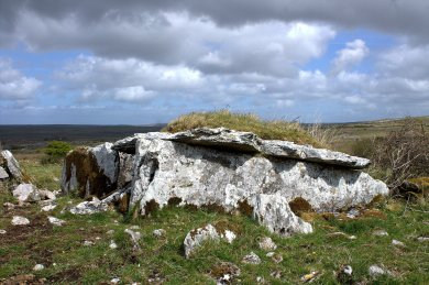 07. Parknabinnia Wedge Tomb, Clare, Ireland