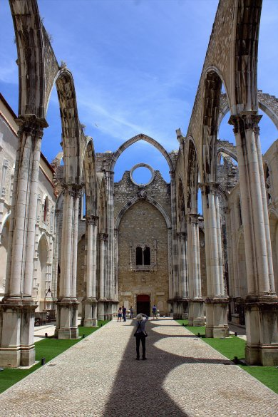 02. Carmo Convent, Lisbon, Portugal