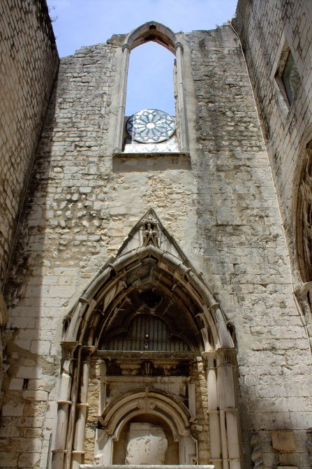 25. Carmo Convent, Lisbon, Portugal