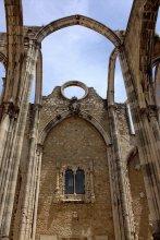 37. Carmo Convent, Lisbon, Portugal