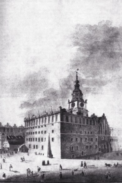 14. Town Hall Tower, Krakow, Poland 1700s