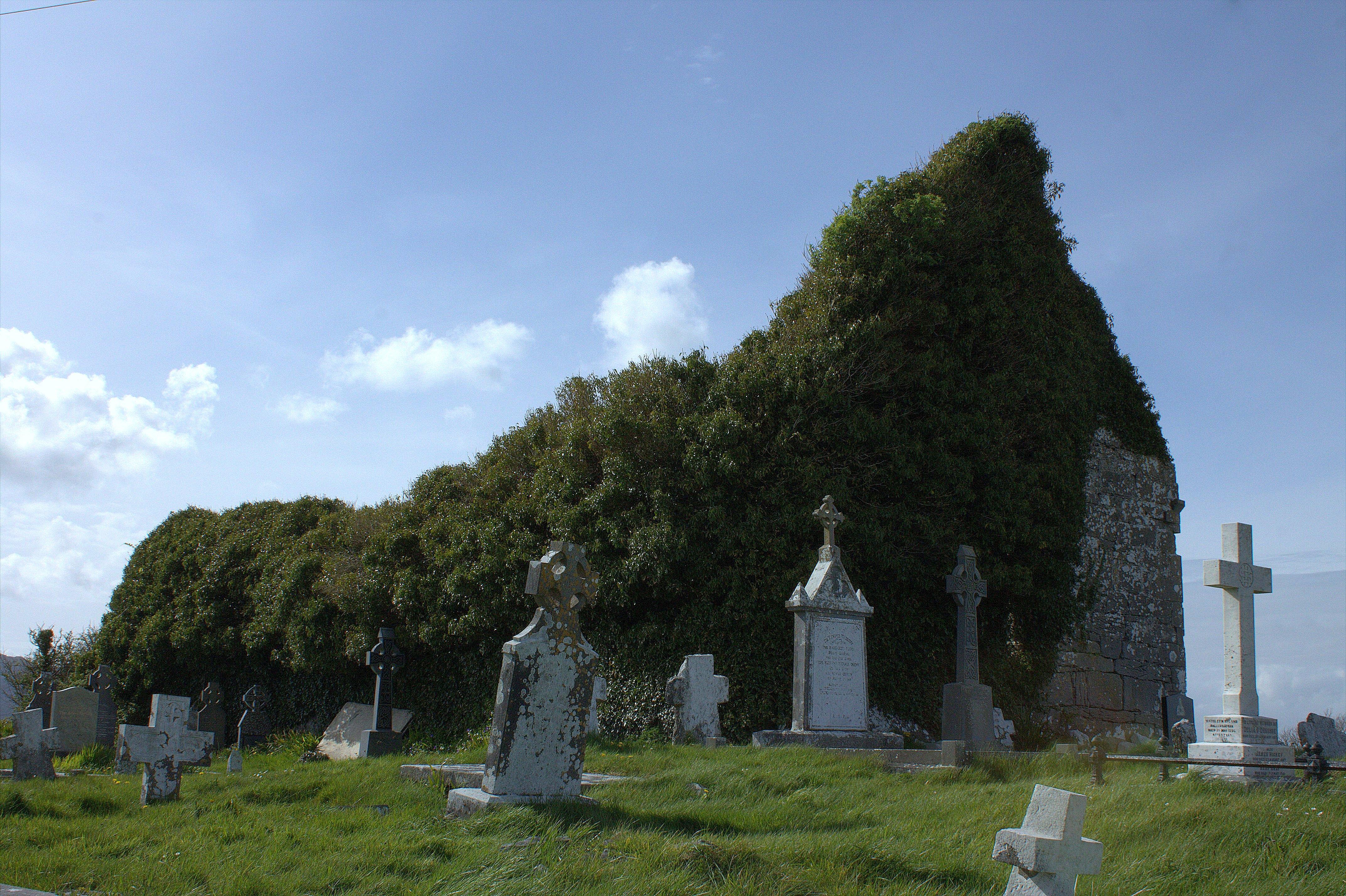 15. Drumcreehy Church, Clare, Ireland
