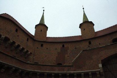 19. Barbican, Florian's Gate & City Walls, Krakow, Poland