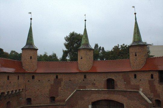 21. Barbican, Florian's Gate & City Walls, Krakow, Poland