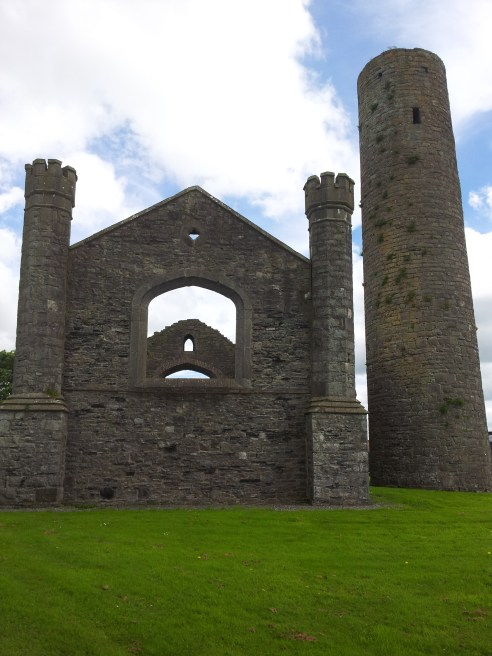 09. Taghadoe Church and Round Tower