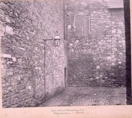05. Flank wall of old Meeting House, from Mullinahack Lane