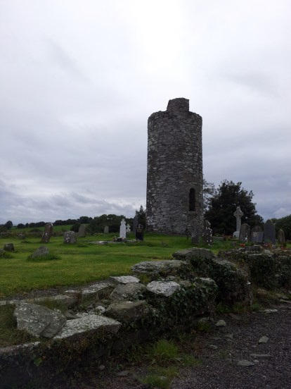 15. Old Kilcullen Round Tower & Graveyard, Co. Kildare