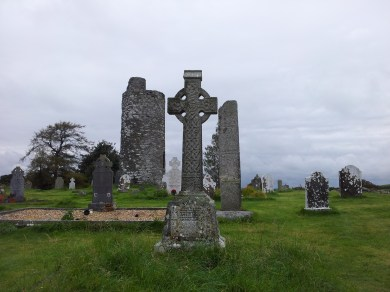 22. Old Kilcullen Round Tower & Graveyard, Co. Kildare