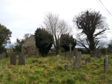 02. Tully Burial Ground & Lehaunstown High Crosses