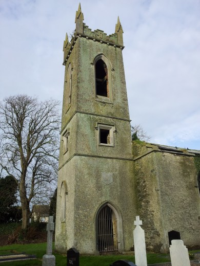 02. Dromiskin Monastery, Round Tower and High Cross, Co Louth