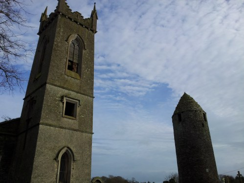 03. Dromiskin Monastery, Round Tower and High Cross, Co Louth