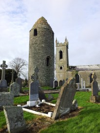 26. Dromiskin Monastery, Round Tower and High Cross, Co Louth