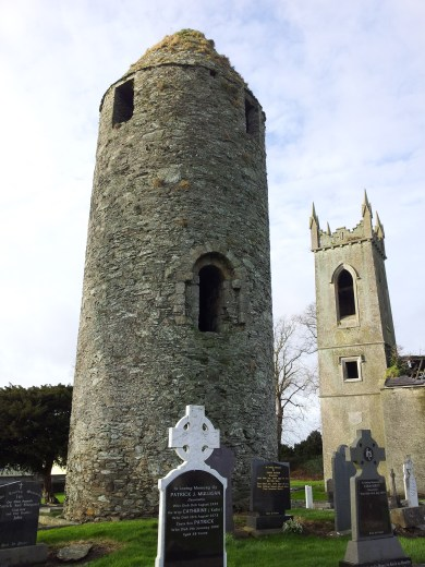 27. Dromiskin Monastery, Round Tower and High Cross, Co Louth