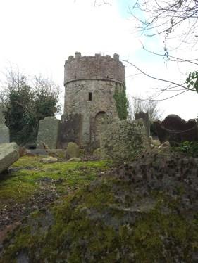 17. Cruagh Watchtower & Graveyard, Co. Dublin