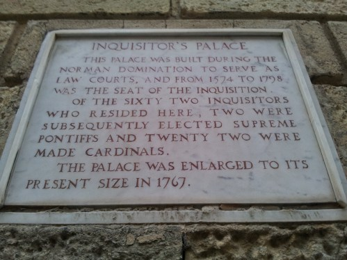01. Inquisitors Palace, Malta