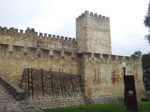 22. Castle of St. George, Lisbon, Portugal