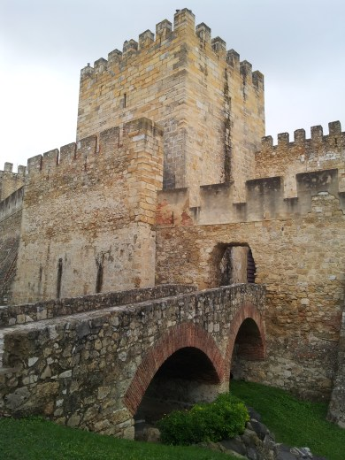 25. Castle of St. George, Lisbon, Portugal