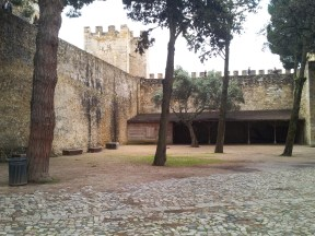 47. Castle of St. George, Lisbon, Portugal
