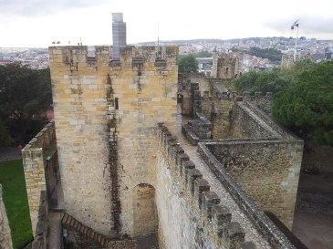 69. Castle of St. George, Lisbon, Portugal