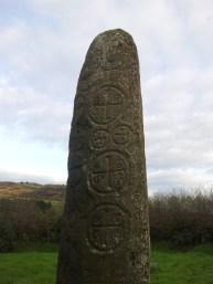 07. Kilnasaggart Inscribed Pillar Stone, Co. Armagh