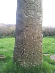 08. Kilnasaggart Inscribed Pillar Stone, Co. Armagh