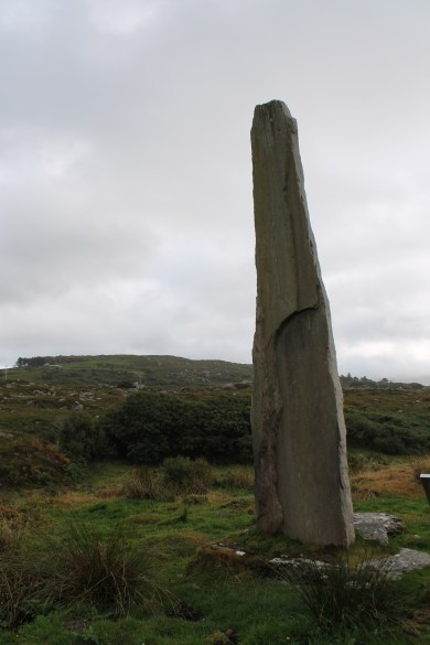 08. Ballycrovane Ogham Stone, Co. Cork