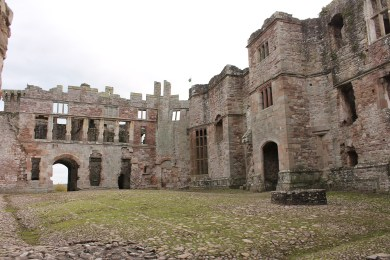 12. Raglan Castle, Monmouthshire, Wales