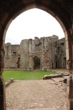 24. Raglan Castle, Monmouthshire, Wales