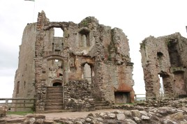 28. Raglan Castle, Monmouthshire, Wales