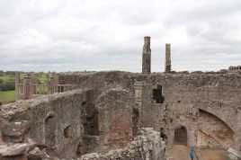 32. Raglan Castle, Monmouthshire, Wales