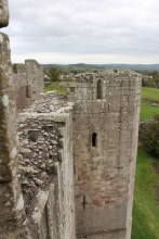33. Raglan Castle, Monmouthshire, Wales