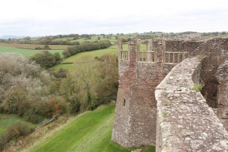 34. Raglan Castle, Monmouthshire, Wales