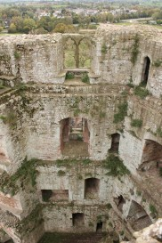 39. Raglan Castle, Monmouthshire, Wales
