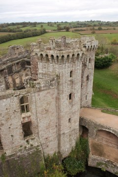 41. Raglan Castle, Monmouthshire, Wales