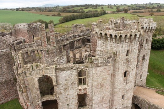 42. Raglan Castle, Monmouthshire, Wales