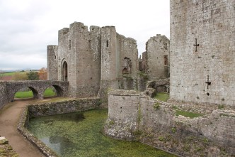53. Raglan Castle, Monmouthshire, Wales
